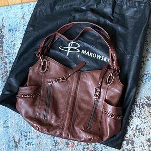 B Makowsky Genuine Leather Purse